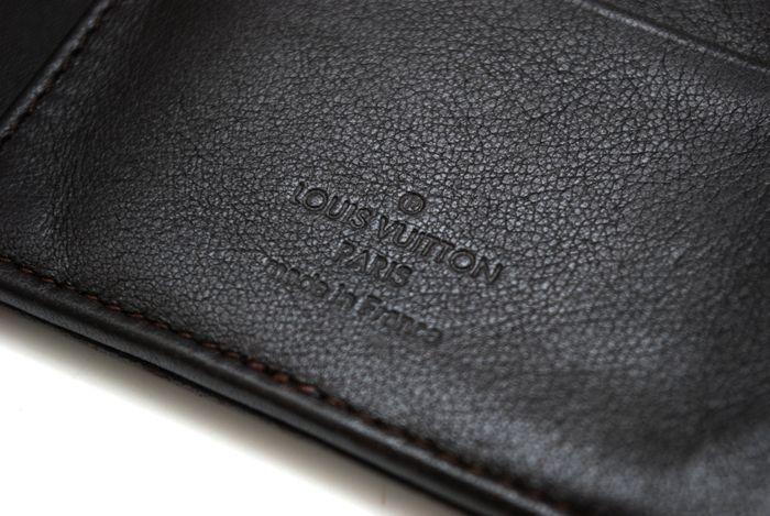 【極美品】ルイヴィトン Louis Vuitton マヒナ ポルトフォイユ アメリア 黒 3つ折り ヴィトン 長財布 レザー レディース 美品 定価約13万円_画像10