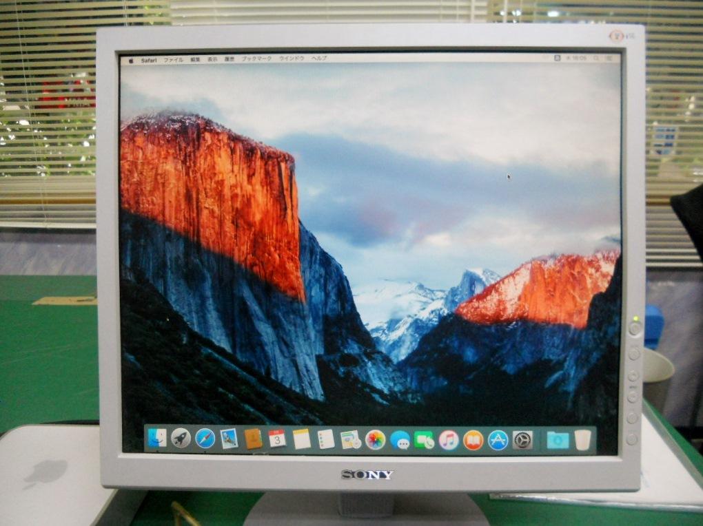 Mac Mini Late2009 +モニター15インチ+Macキーボード+ワイアレスマウスのセットです。_画像2