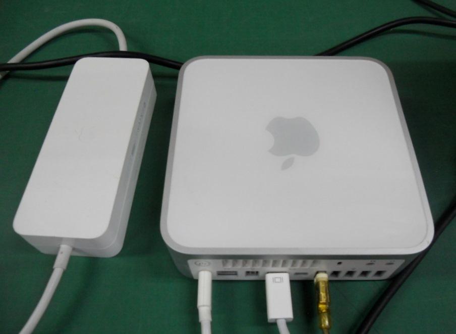 Mac Mini Late2009 +モニター15インチ+Macキーボード+ワイアレスマウスのセットです。_画像3
