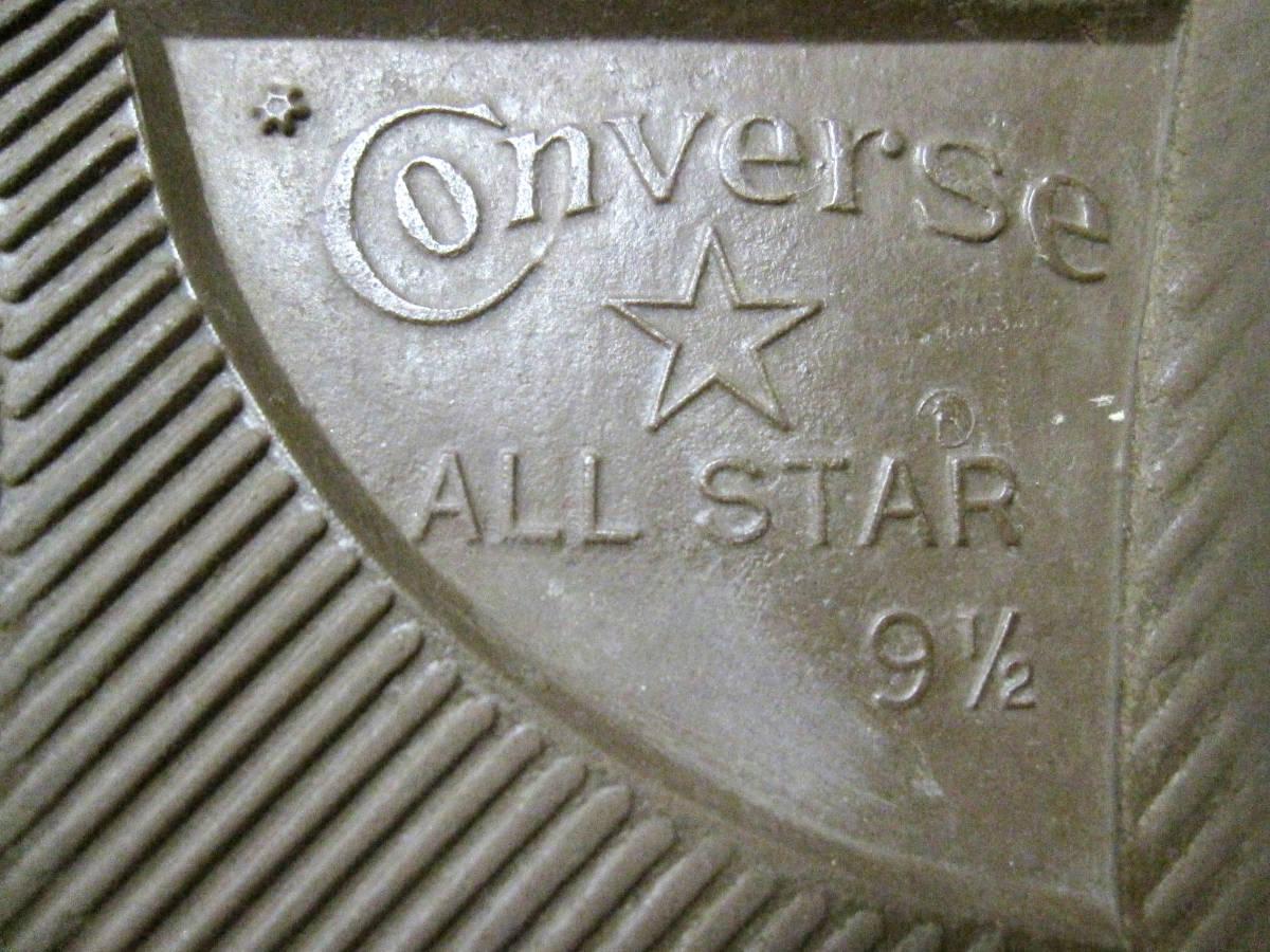希少・90s Vintage USA製 ALLSTAR オールスターLO グリーン US9.5 ★ 良好美品 / ビンテージ 銀箱 赤箱 チャックテイラー_画像3