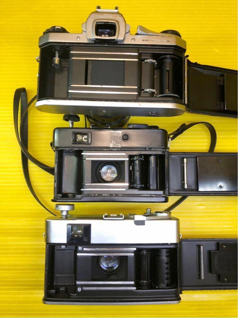 ジャンク品 部品取り品 フィルムカメラ まとめて pentax yashica nikomat konica canon _画像9