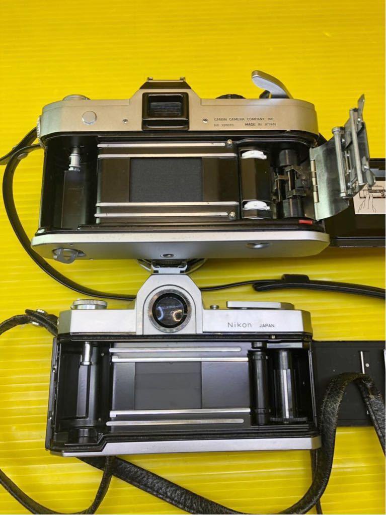 ジャンク品 部品取り品 フィルムカメラ まとめて pentax yashica nikomat konica canon _画像10