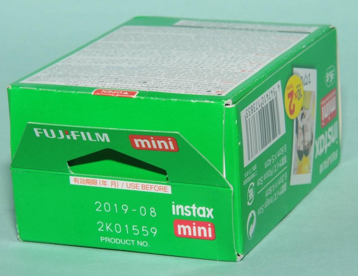 富士フイルム チェキ instax mini 8+ フイルム20枚付き_画像6