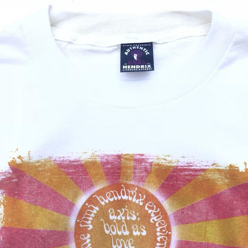 ■激レア デッドストック■2000s JIMI HENDRIX 千手観音 Tシャツ L 白 ジミヘンドリックス ジミヘン バンドTシャツ ビンテージ 90s_画像5