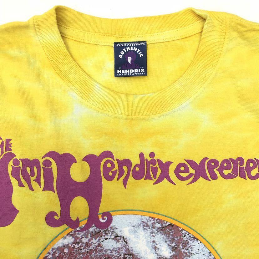 ■激レア デッドストック■2000s JIMI HENDRIX タイダイ Tシャツ L ジミヘンドリックス ジミヘン バンドTシャツ ビンテージ 90s_画像5