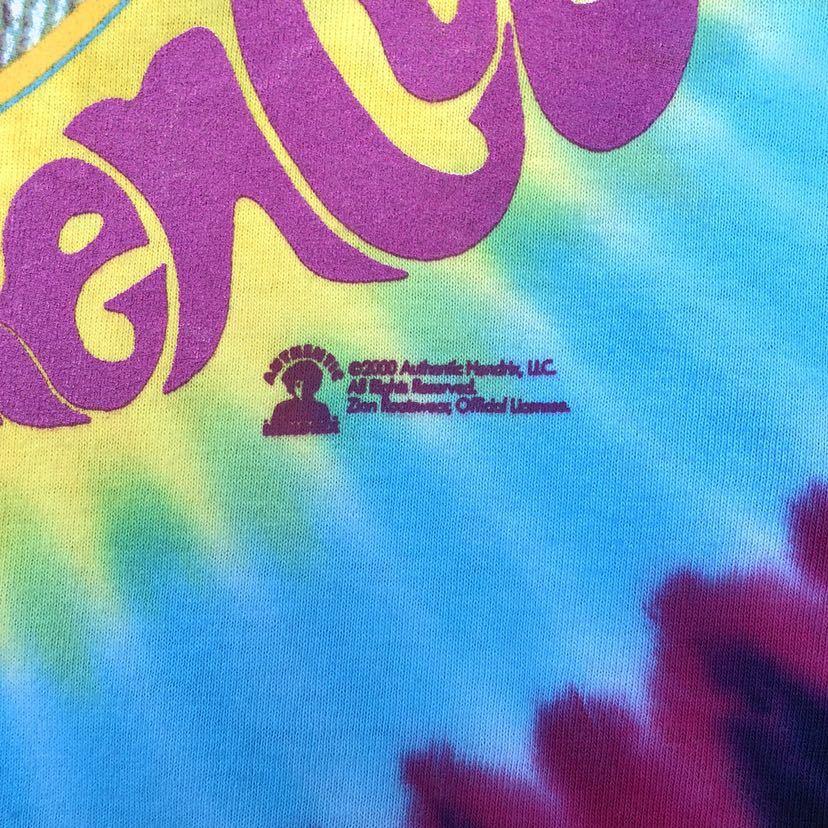 ■激レア デッドストック■2000s JIMI HENDRIX タイダイ Tシャツ L ジミヘンドリックス ジミヘン バンドTシャツ ビンテージ 90s_画像4