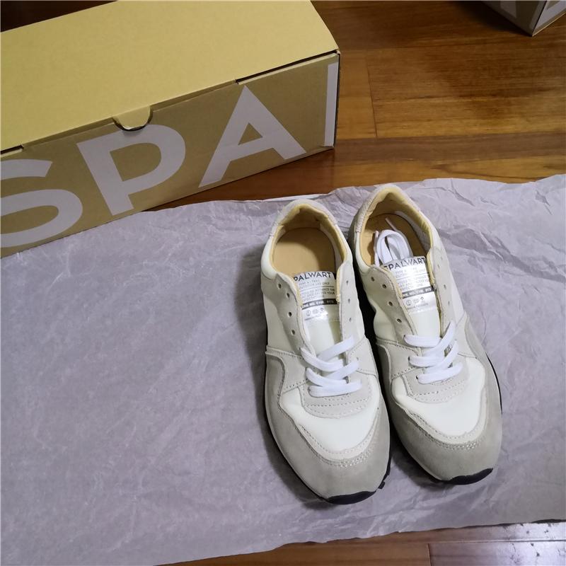 未使用 SPALWART MARATHON TRAIL スニーカー 靴 マラソントレイル ローカットスニーカー WHITE WB 42