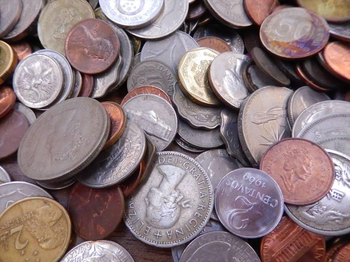 1円~海外コイン 硬貨 貨幣 まとめて 総重量約2701g 世界のお金 外国銭 海外硬貨_画像4