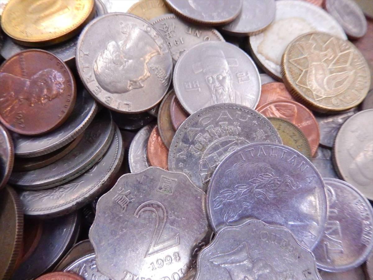 1円~海外コイン 硬貨 貨幣 まとめて 総重量約2701g 世界のお金 外国銭 海外硬貨_画像2