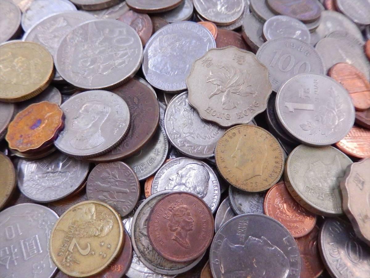 1円~海外コイン 硬貨 貨幣 まとめて 総重量約2701g 世界のお金 外国銭 海外硬貨_画像5