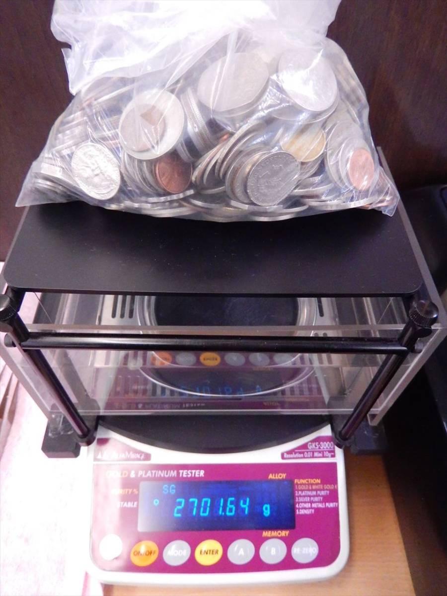 1円~海外コイン 硬貨 貨幣 まとめて 総重量約2701g 世界のお金 外国銭 海外硬貨_画像10