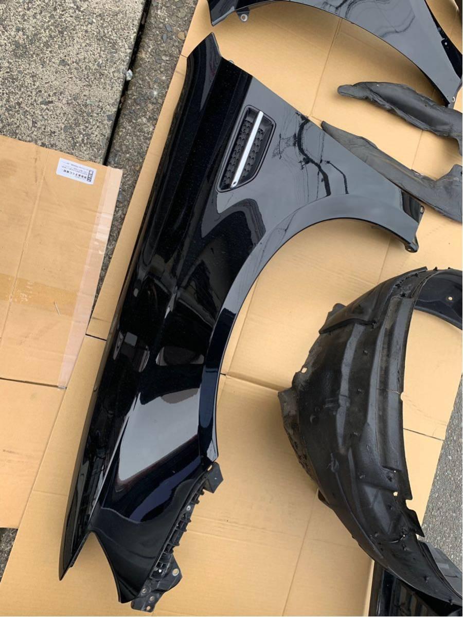 BL9改 レガシィSTI S402専用 フロントフェンダー インナーフェンダー付き BP5/BL5 32jブラック ダクト付き限定品(S002)_画像4