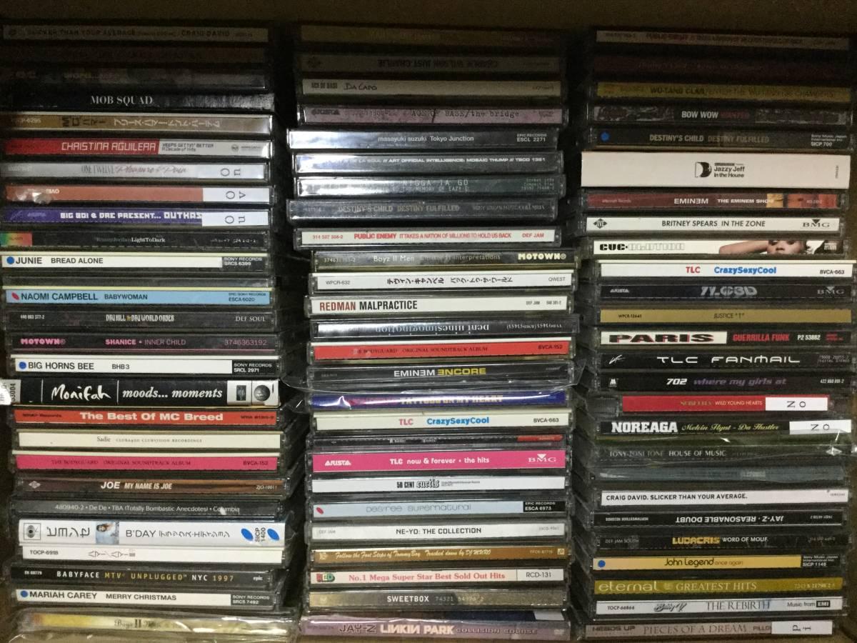 一軒の店舗より HIPHOP R&B CD280枚まとめて出品致します。kai684_画像2