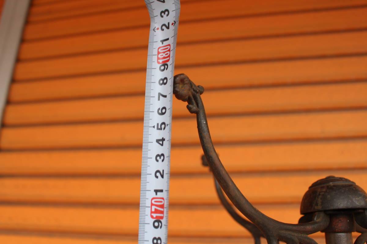ハンガーラック インダストリアル 10's 20's ジャパンカラー ビクトリアン アンティーク アメリカ製 クロージングラック_画像8