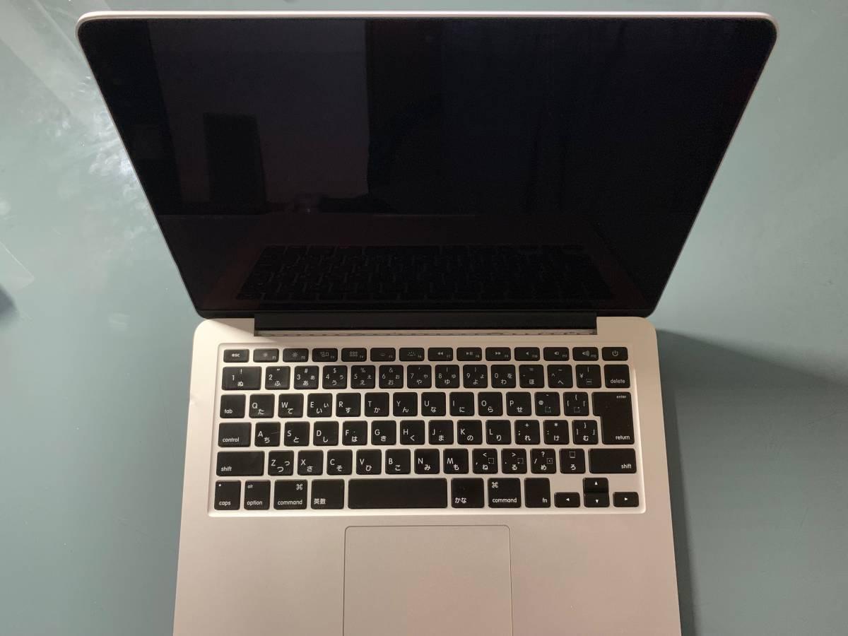 高スペック!MacBook Pro(13inch,Late 2013 ) 2.8GHz Intel Core i7 16GB 1600MHz DDR3_画像3
