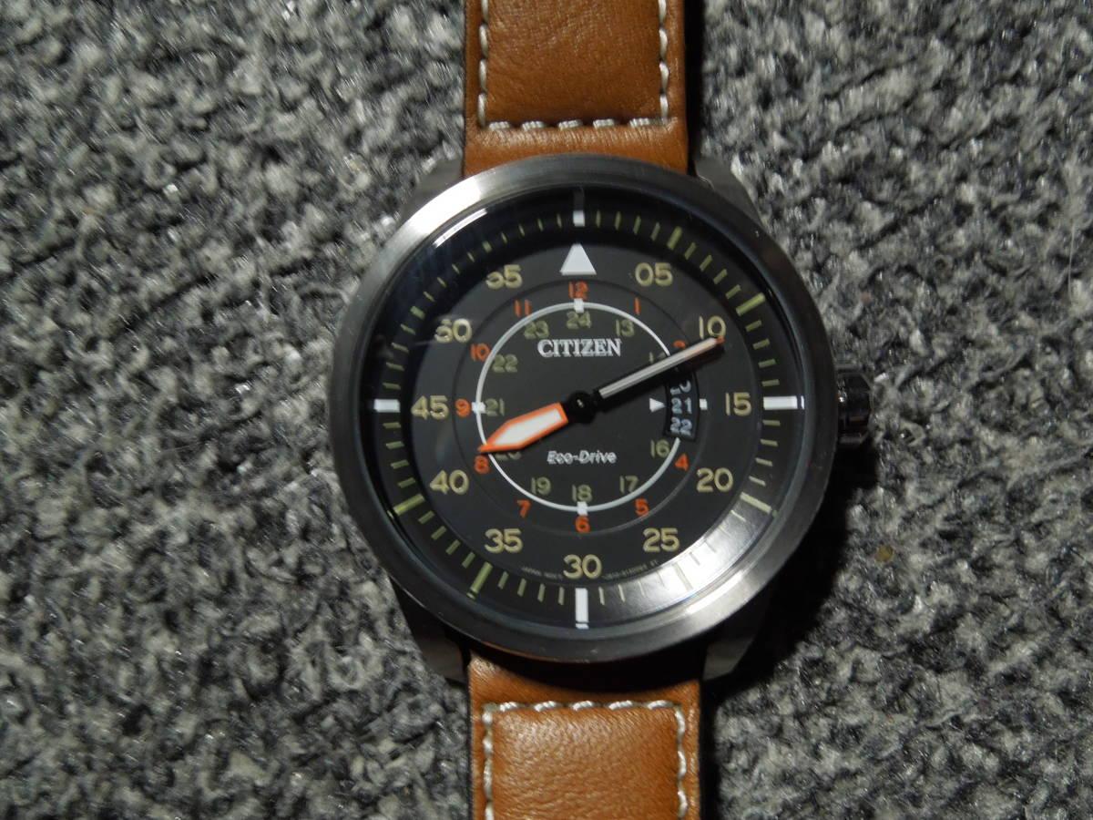 シチズン Citizen AW1361-10H 並行輸入 メンズ 新品同様 時計 エコドライブ