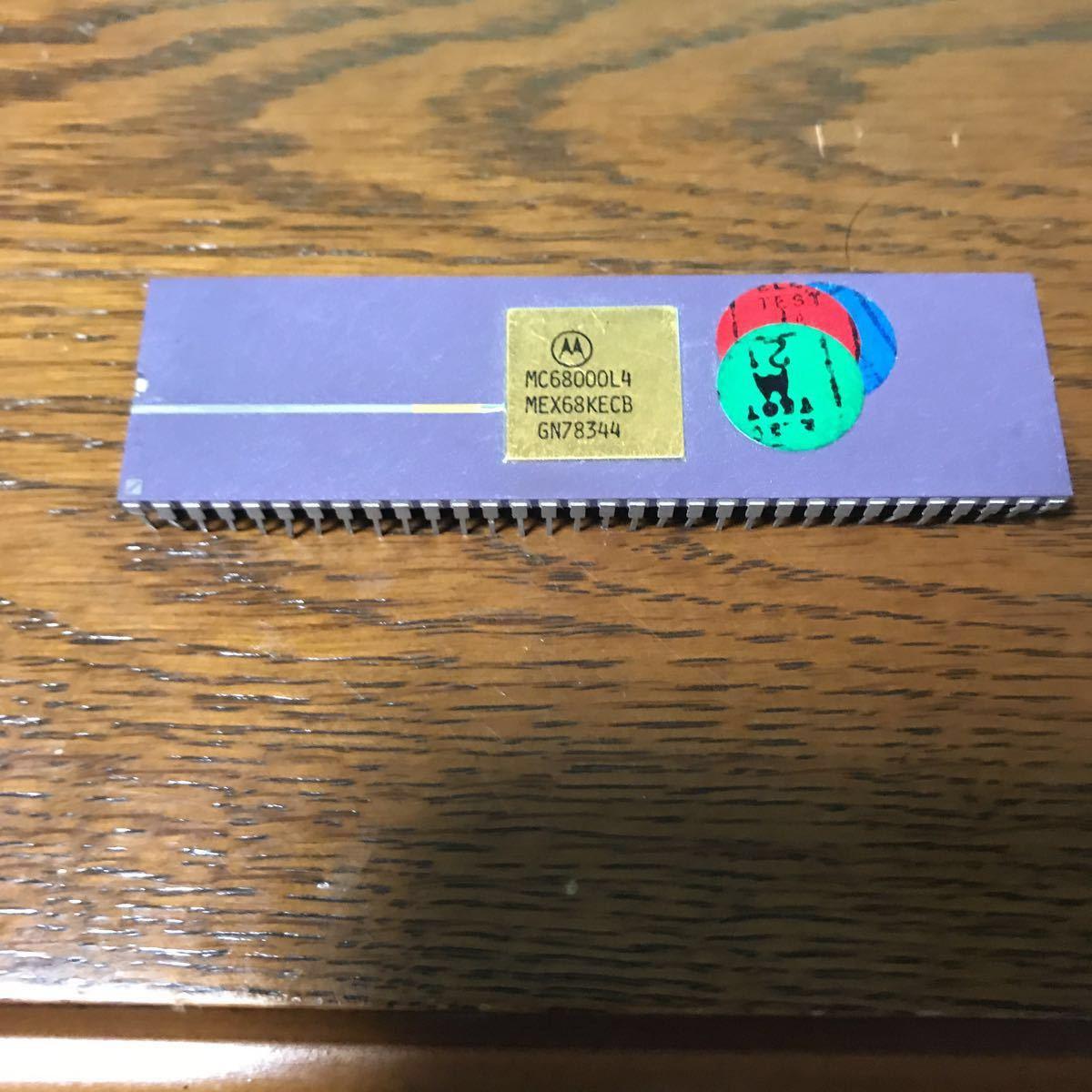 Motorola cpu MC68000L4