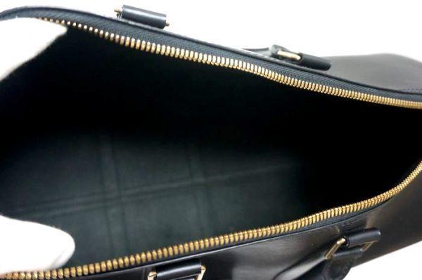 【極美品 袋有】ルイヴィトン Louis Vuitton エピ キーポル45 ボストンバッグ 旅行バッグ カバン 鞄 ノワール 黒 M59152_画像9