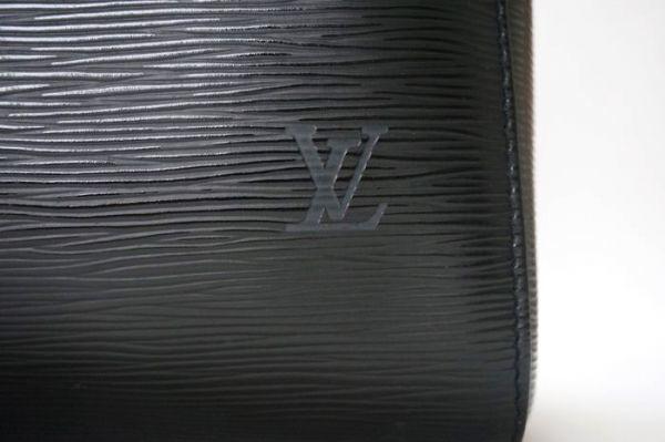 【極美品 袋有】ルイヴィトン Louis Vuitton エピ キーポル45 ボストンバッグ 旅行バッグ カバン 鞄 ノワール 黒 M59152_画像6