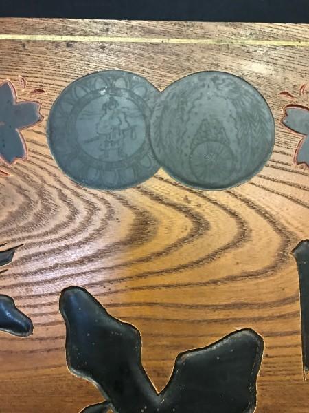 『戦前看板 一枚ものの看板 日本盛 木製 特大 看板 日本酒 西宮酒造 アンティーク 時代物』_画像8