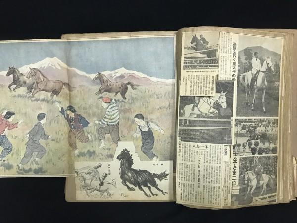 『昭和23年頃~ 当時の新聞スクラップ 競馬 日本ダービー 天皇賞 競馬後記など 資料 データ 名馬検索に』_画像5