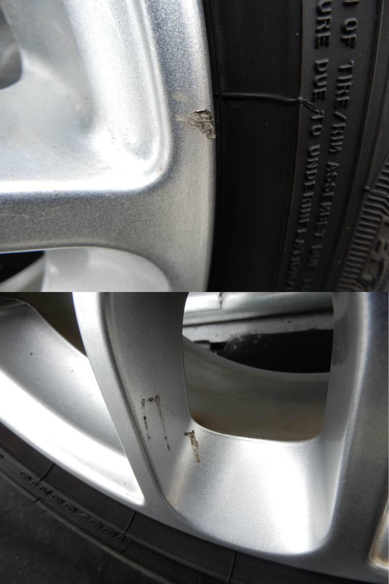 フィアット500 純正 アルミ +タイヤ 4本 中古  f708802_画像3
