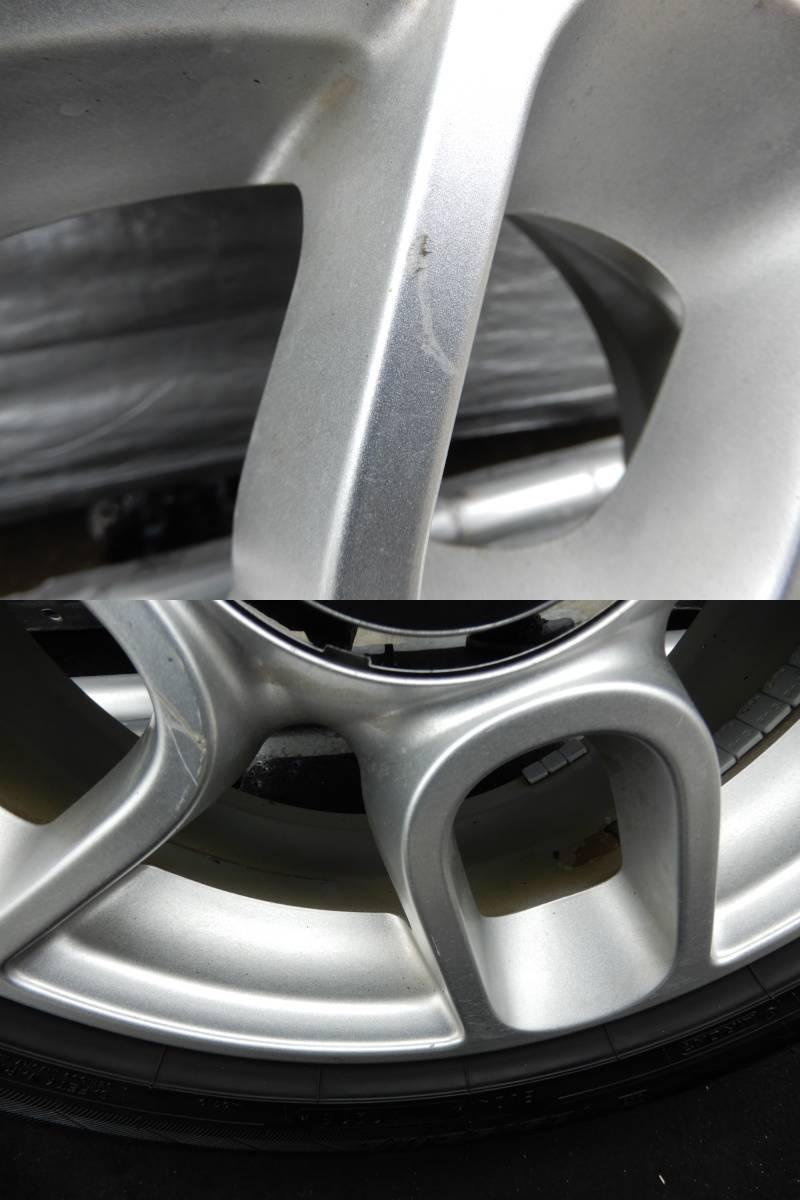 フィアット500 純正 アルミ +タイヤ 4本 中古  f708802_画像6