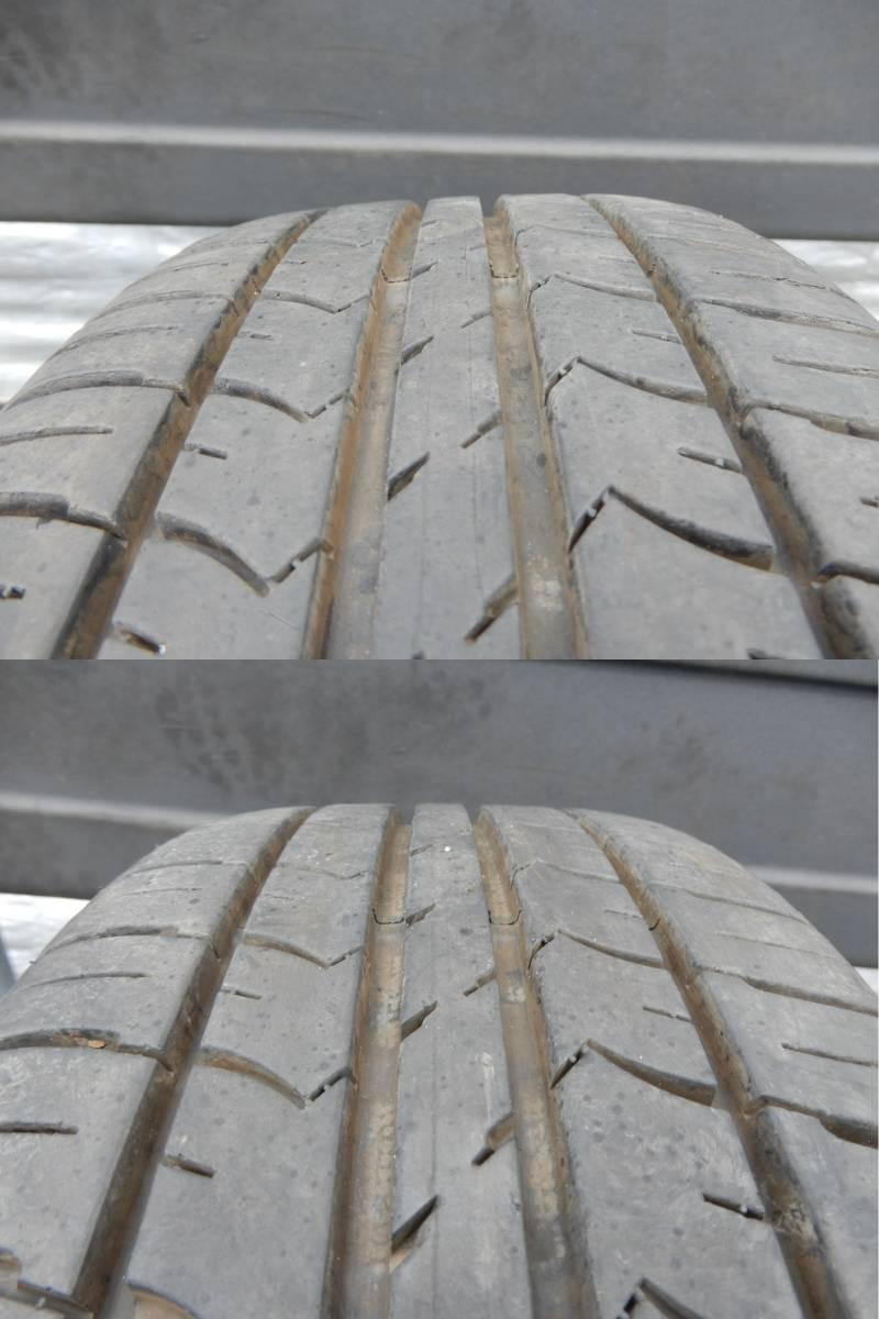 フィアット500 純正 アルミ +タイヤ 4本 中古  f708802_画像10