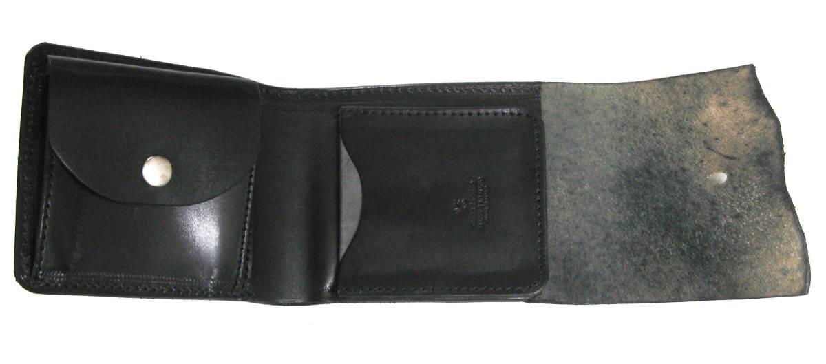 ワイズ:レザー ウォレット 財布 ( ヨウジ Yohji Yamamoto wallet 本革_画像5