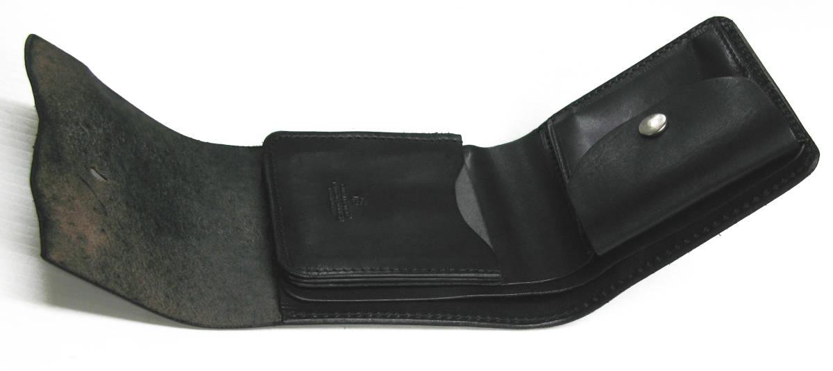 ワイズ:レザー ウォレット 財布 ( ヨウジ Yohji Yamamoto wallet 本革_画像6