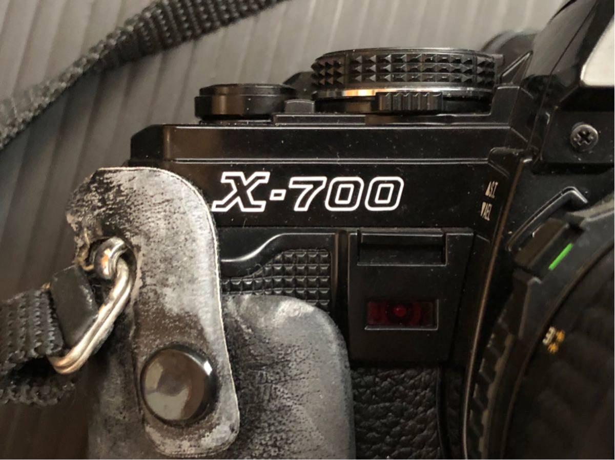 MINOLTA カメラ 一眼 X-700 ジャンク品 50mm_画像4