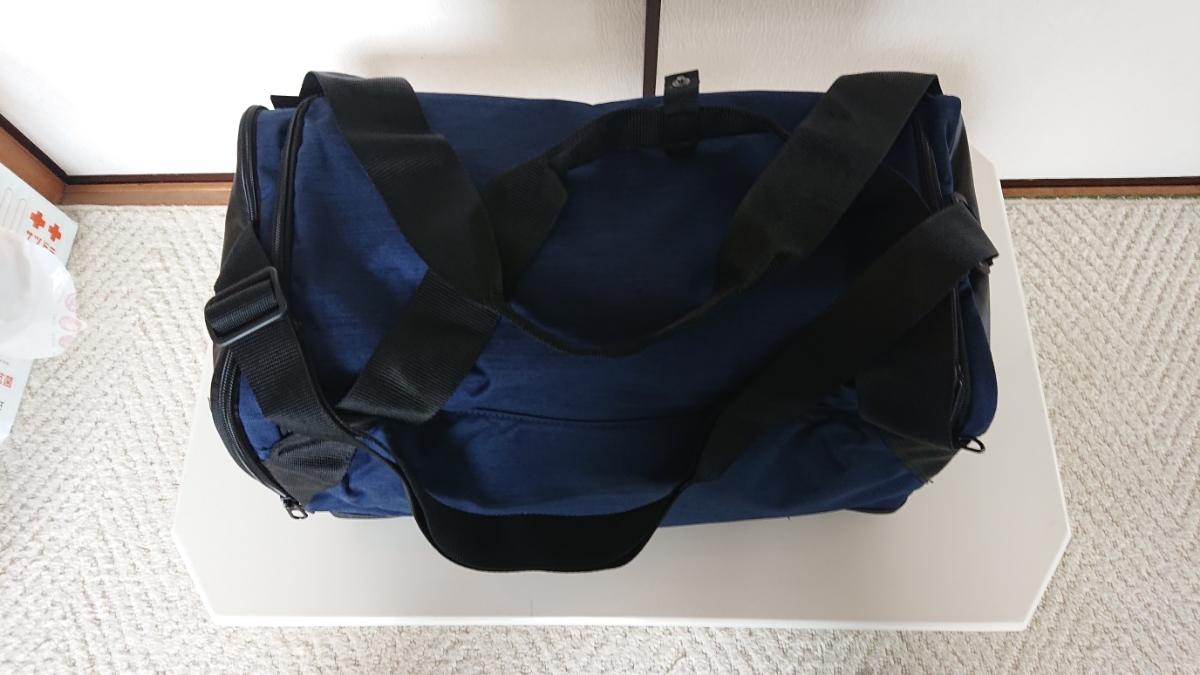 未使用タグ付きナイキボストンバッグ、ネイビーカラー。_画像7