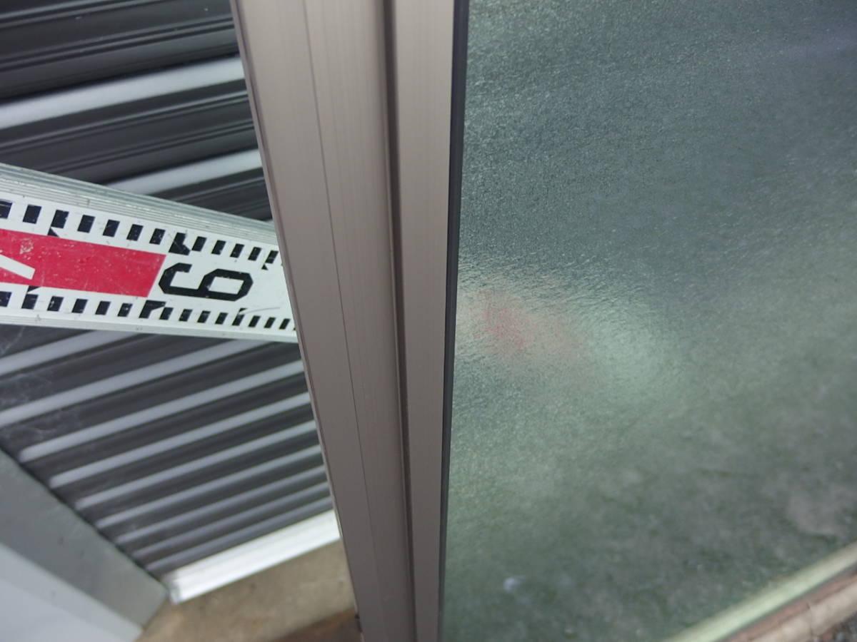 在庫品 アルミサッシ LowE 型 ペアガラス サーモスL 引違い窓 15718(16018) シャイングレー_画像5