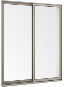 在庫品 アルミサッシ LowE 型 ペアガラス サーモスL 引違い窓 15718(16018) シャイングレー_画像2