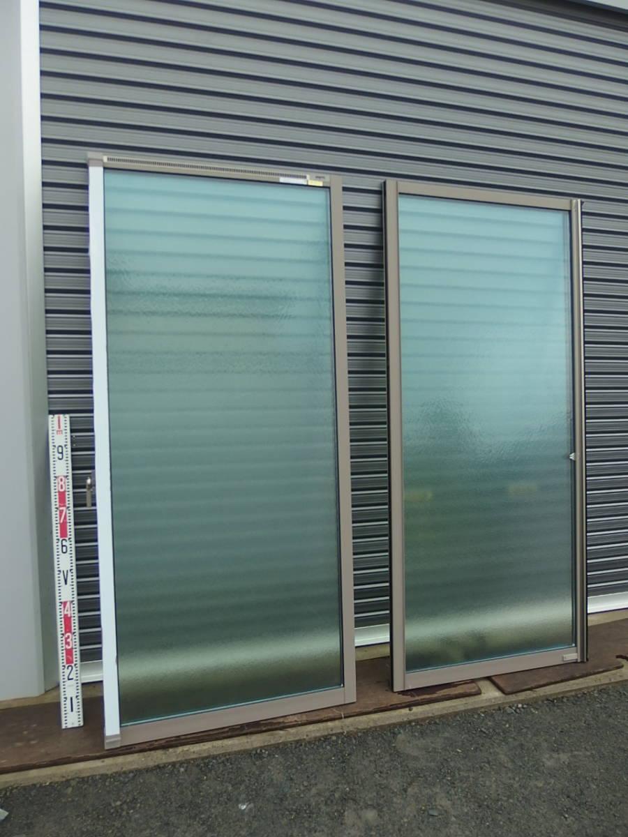 在庫品 アルミサッシ LowE 型 ペアガラス サーモスL 引違い窓 15718(16018) シャイングレー_画像4