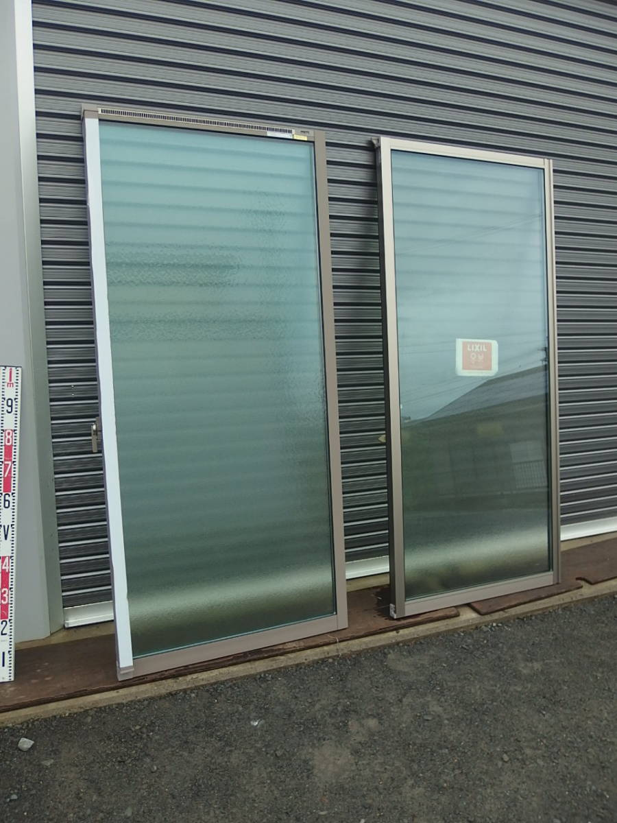 在庫品 アルミサッシ LowE 型 ペアガラス サーモスL 引違い窓 15718(16018) シャイングレー_画像8