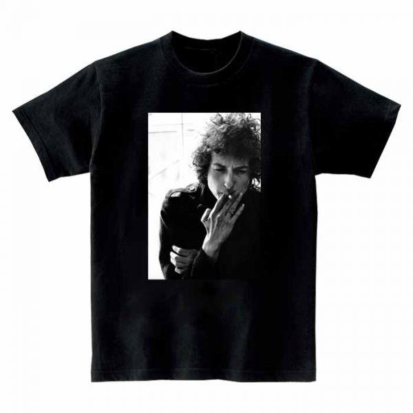 新品 Bob Dylan ボブ ディラン バンド ロック メタル4 半袖Tシャツ ブラック M_画像1