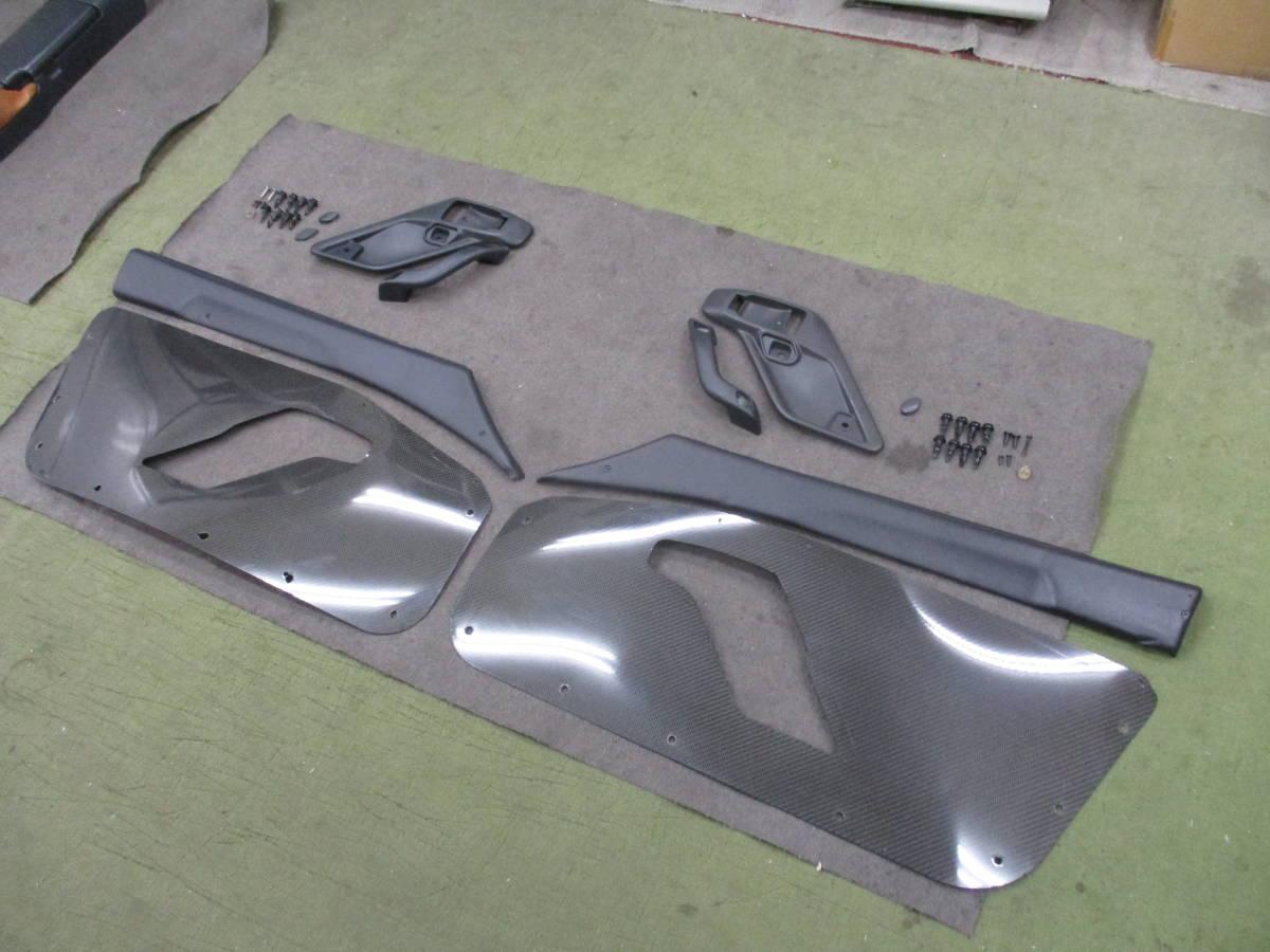 EA11Rカプチーノ ドア内張り カーボンプレート使用