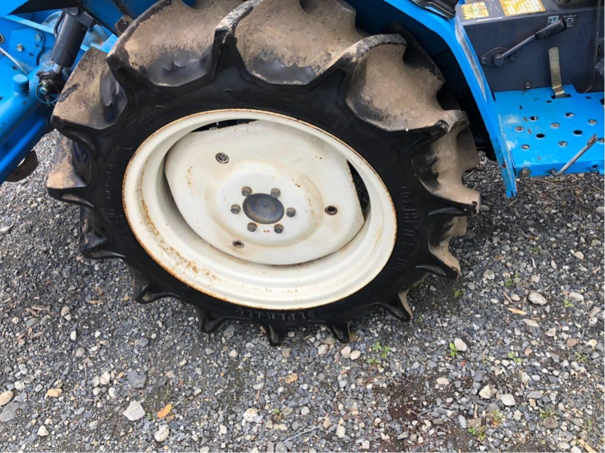 トラクター 4WD 16馬力 三菱 農業 園芸 家庭菜園_画像4