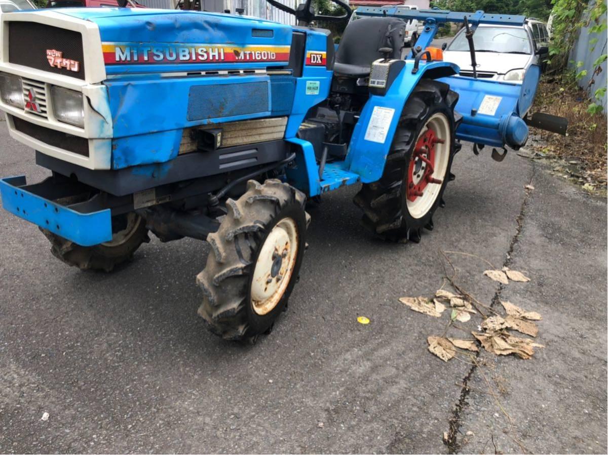 トラクター 4WD 16馬力 三菱 農業 園芸 家庭菜園_画像5