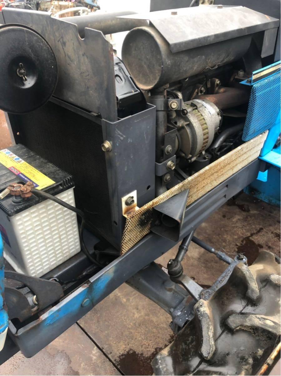 トラクター 4WD 16馬力 三菱 農業 園芸 家庭菜園_画像9