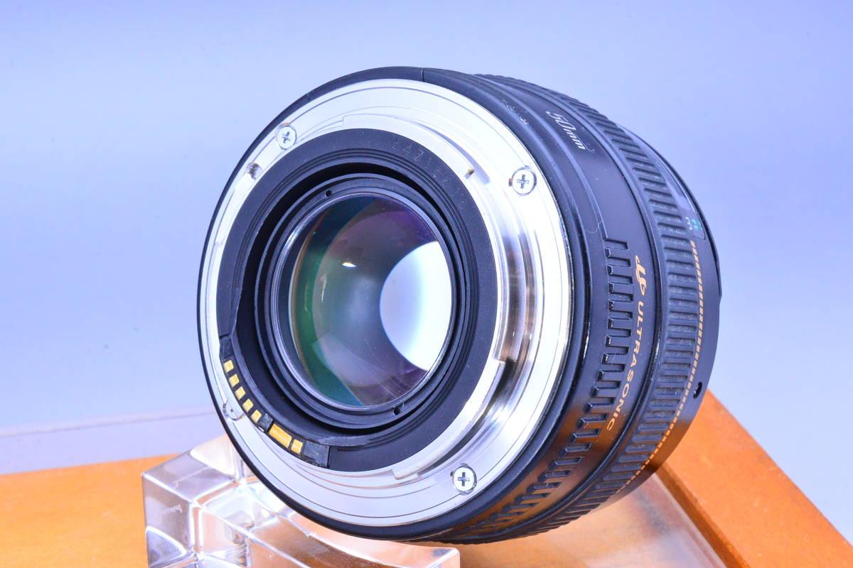 【クリア光学】 Canon キヤノン EF 50mm F1.4 USM カビ曇りの無い綺麗な光学です!_画像3