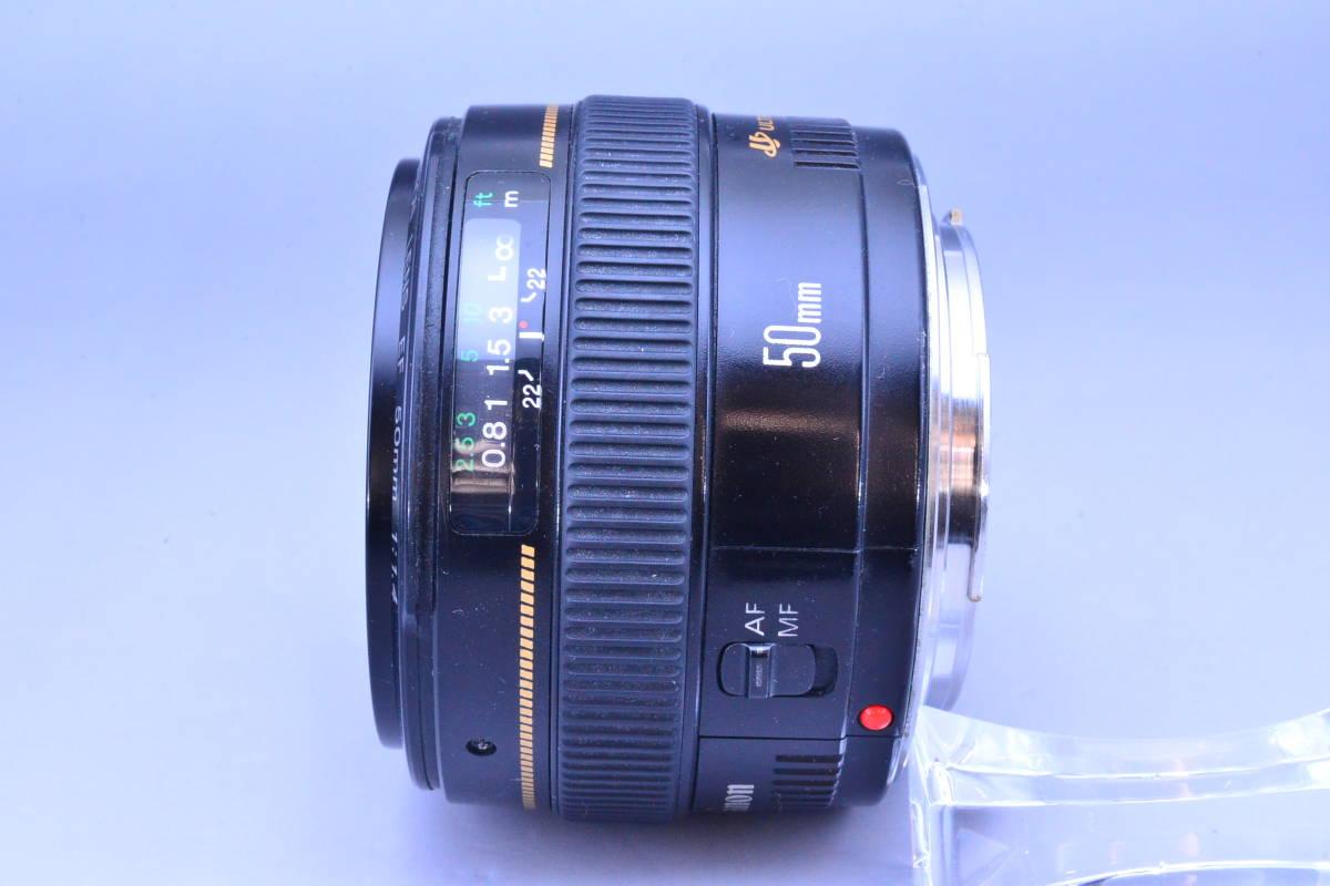 【クリア光学】 Canon キヤノン EF 50mm F1.4 USM カビ曇りの無い綺麗な光学です!_画像4
