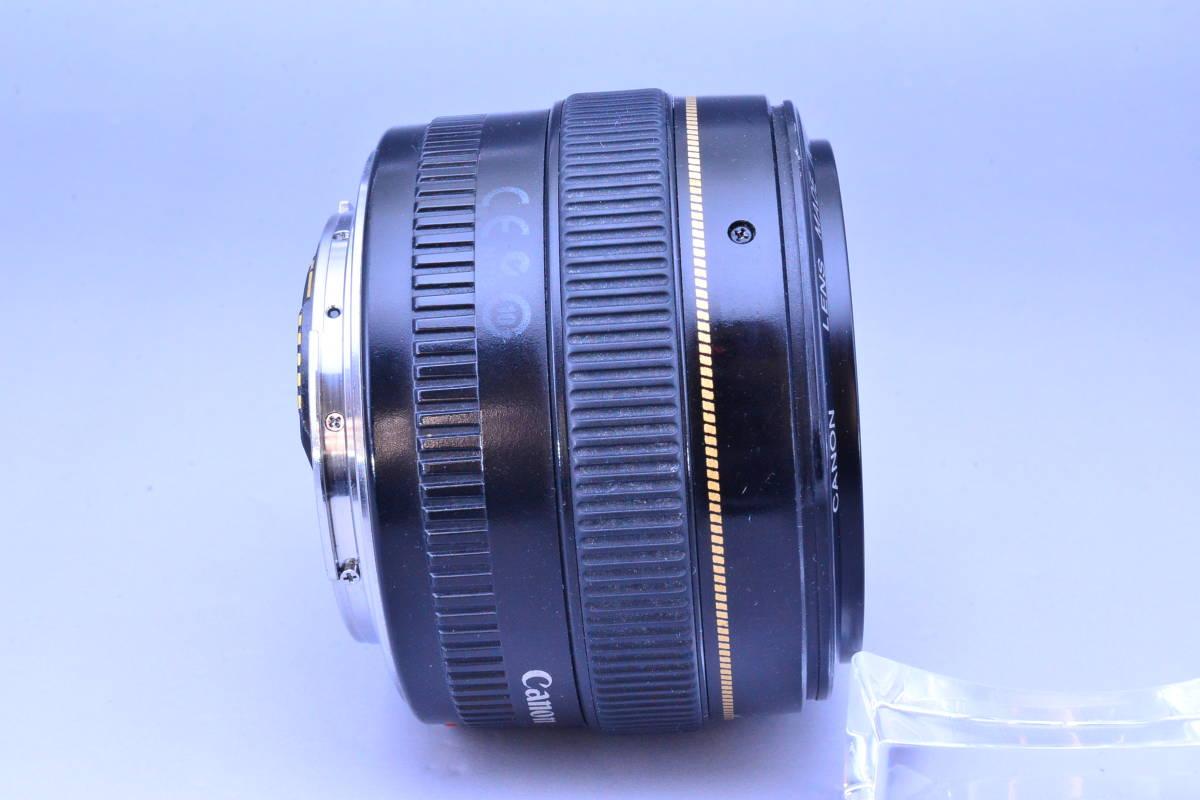 【クリア光学】 Canon キヤノン EF 50mm F1.4 USM カビ曇りの無い綺麗な光学です!_画像5