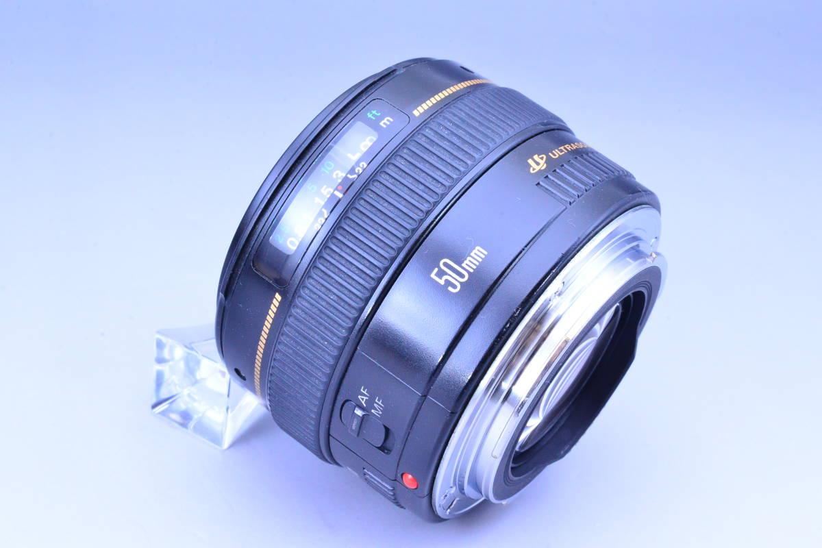 【クリア光学】 Canon キヤノン EF 50mm F1.4 USM カビ曇りの無い綺麗な光学です!_画像6