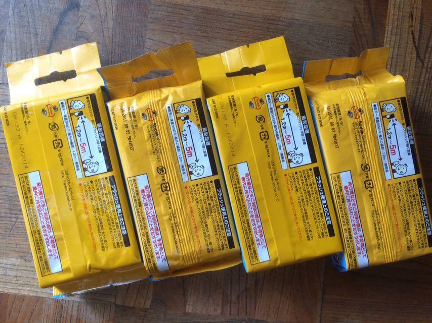 ジャンク 期限切れ使い捨てカメラ Kodak コダック スナップキッズ 800 27枚撮り 4つまとめて_画像2