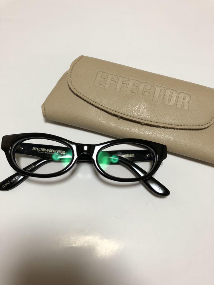 EFFECTOR William エフェクター ウィリアム フレーム 眼鏡 メガネ ネイバーフッド supreme