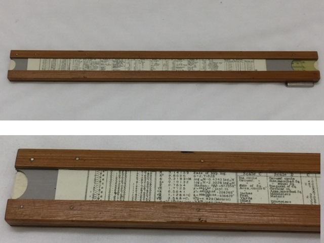 """■□ 計算尺 HEMMI ヘンミ NO.2974N """"SUN"""" HEMMI'S BAMBOO SLIDE RULL 長さ279mm / レトロ □■ レターパックライト360 _画像8"""