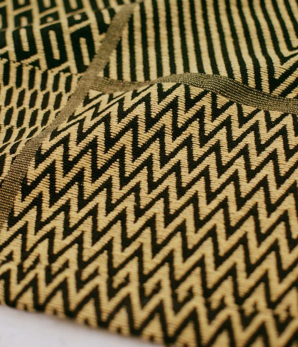 アフリカンモチーフ のれん 暖簾 厚手 コットン素材 民族調 コンゴ クバ王国 伝統織物 エスニック 店舗 間仕切り_画像3