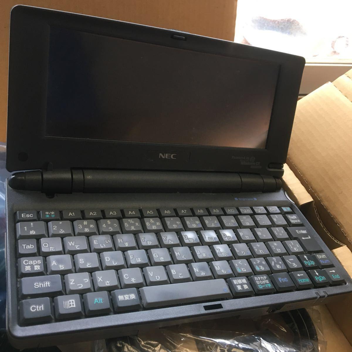 NEC Mobile gear II MC-R520 一式 一部未開封 動作保証なし _画像7